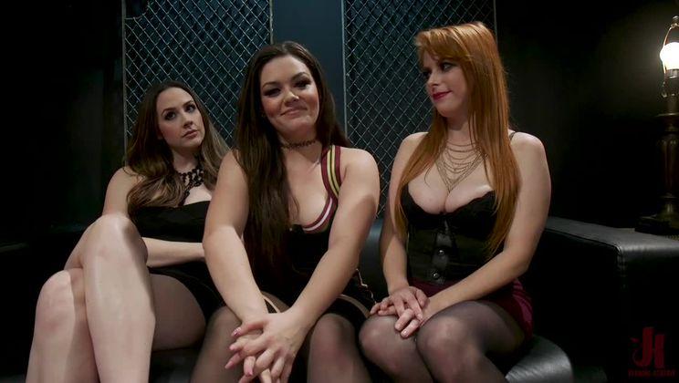 Service Slut Training: Bad Waitress Strap-On DP'd