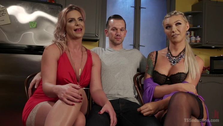 Phoenix Marie's TS Threesome: What does she have that I don't have?