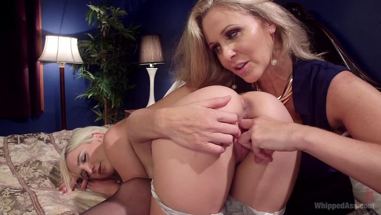 MILF Angel Investor: Young entrepreneur submits to kinky lesbian sex!
